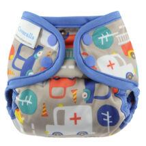 Blueberry mini-Coveralls mosható pelenkakülső többféle minta (2,7-8,1 kg)