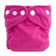 Charlie Banana mosható pelenka újszülött méret (1 pelenka+1 betét) Sötét rózsaszín