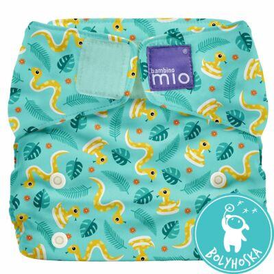 Bambino Mio MioSolo All-In-One JUNGLE SNAKE egyméretes mosható pelenka