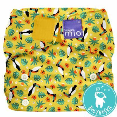 Bambino Mio MioSolo All-In-One TROPICAL TOUCAN egyméretes mosható pelenka