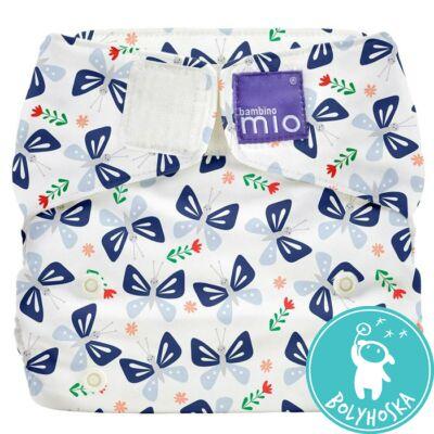 Bambino Mio MioSolo All-In-One BUTTERFLY BLOOM egyméretes mosható pelenka