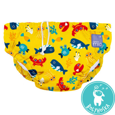 Bambino Mio úszópelenka Deep sea yellow 7-9 kg
