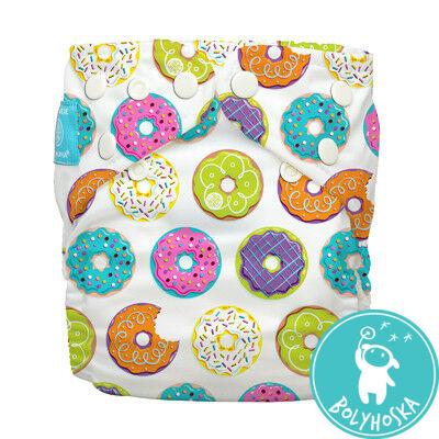 Charlie Banana egyméretes zsebes pelenka 2 betéttel - Delicious donuts
