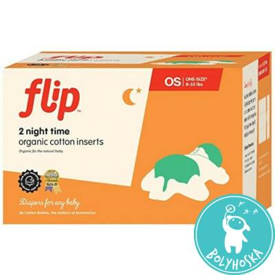 flip organikus éjszakai betét