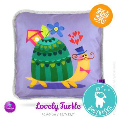 Milovia Dotness párna Lovely turtle