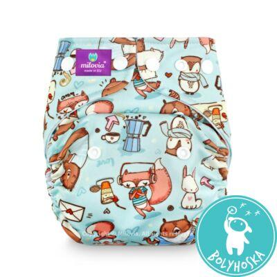 Milovia Little pleasures Coolmax egyméretes zsebes mosható pelenka (4-16kg)