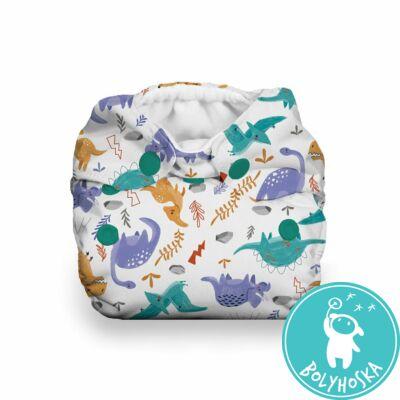 Thirsties All-in-one NATURAL mosható pelenka újszülötteknek (2-6kg) MODERN JURASSIC