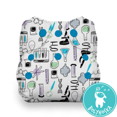 Thirsties All-in-one NATURAL patentos mosható pelenka újszülötteknek (2-6kg) Science