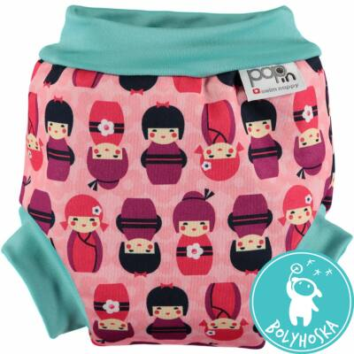 japán baba pop in úszó