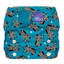 Bambino Mio MioSolo All-In-One ZEBRA CROSSING egyméretes zsebes mosható pelenka