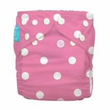 Charlie Banana egyméretes zsebes pelenka Polka Dots Pink