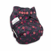 Fidella All-In-One zsebes mosható pelenka Rock'n Rolla Pink Splash