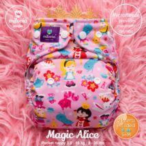 Milovia Magic Alice Unique mikropolár egyméretes zsebes pelenka (4-16kg)