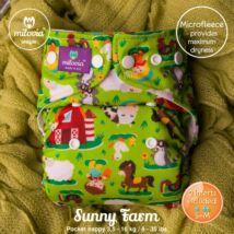 Milovia Sunny Farm Unique mikropolár egyméretes zsebes mosható pelenka (4-16kg)