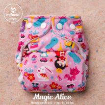 """Milovia Magic Alice Unique  mosható pelenkakülső újszülötteknek """"S"""" méret (2,5-7kg)"""