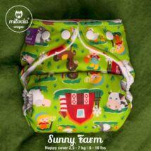"""Milovia Sunny Farm Unique mosható pelenkakülső újszülötteknek """"S"""" méret (2,5-7kg)"""