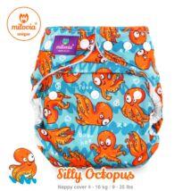 """Milovia Silly Octopus Unique mosható pelenkakülső újszülötteknek """"S"""" méret (2,5-7kg)"""