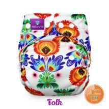 Milovia Folk mikropolár egyméretes zsebes  mosható pelenka (4-16kg)