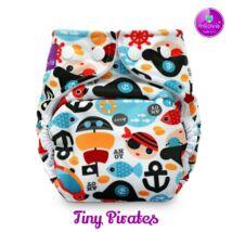 """Milovia Tiny Pirates mosható pelenkakülső újszülötteknek """"S"""" méret (2,5-7kg)"""