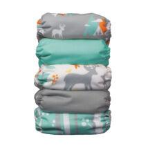 Thirsties All-in-one újszülött mosható pelenkacsomag MOUNTAIN (2-6kg)