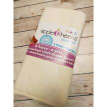 Applecheeks 2 rétegű bambusz-biopamut mosható pelenkabetét csomag (2 db)