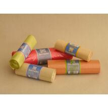Újrahasznosított műanyag szemetes zsák (30db/roll)